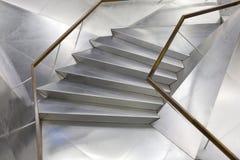 Escalier métallique Photographie stock