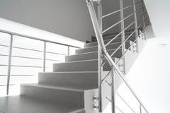 Escalier moderne d'interion Photographie stock libre de droits