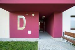 Escalier rougeâtre Photo libre de droits