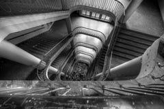 Escalier rouillé Photo libre de droits