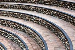 escalier semi-circulaire photo libre de droits