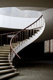 Escalier spiralé élégant image stock