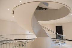 Escalier spiralé élégant images stock
