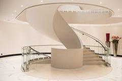 Escalier spiralé élégant photos stock