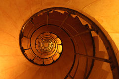 Escalier spiralé Photo stock