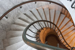 Escalier spiralé. Images stock