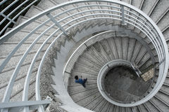 Escalier spiralé Photos stock