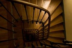 Escalier spiralé images libres de droits