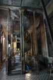Escalier spiralé de Cubn photo libre de droits