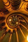 Escalier spiralé de Lit Image stock