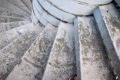 Escalier spiralé de vieillissement. Photographie stock libre de droits