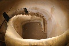 escalier tordu Photographie stock