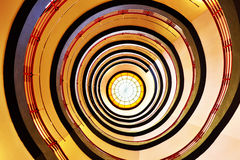 Escalier tred et gris renfrogné Photos stock