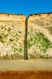 Escaliers à la plage Images stock