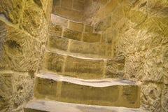 Escaliers à la tour Images libres de droits