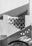 Escaliers égyptiens Photographie stock