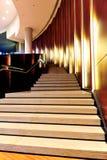 Escaliers élégants Images libres de droits