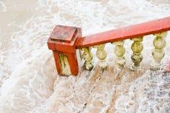 Escaliers antiques Photo stock
