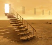 Escaliers antiques Photo libre de droits