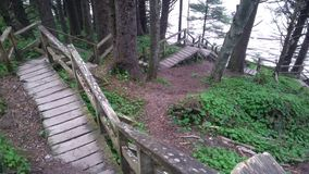 Escaliers ? arroser photo stock