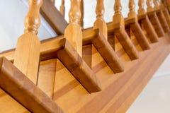Escaliers au 2ème étage Images libres de droits