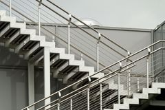 Escaliers au ciel Photographie stock