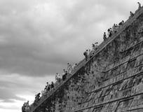 Escaliers au ciel Photos libres de droits