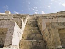 Escaliers au ciel. Détail de R Photos stock