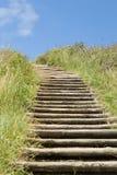 Escaliers au compartiment de Byron Images libres de droits