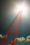 Escaliers au concept Photos libres de droits