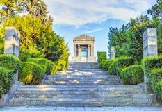 Escaliers au monument image libre de droits