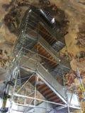 Escaliers au paradis Images libres de droits