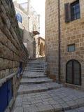Escaliers au port de Jaffa Photo stock