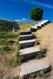 Escaliers au sky-2 Images stock