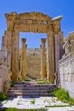 Escaliers au temple d'artemus Photographie stock libre de droits