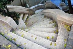 Escaliers baroques de type Photos libres de droits