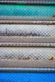 Escaliers colorés Photographie stock