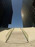 Escaliers concrets Photos libres de droits