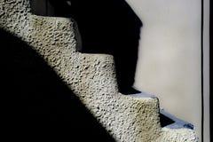 Escaliers concrets Photos stock