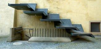 Escaliers contemporains image libre de droits