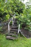 Escaliers décomposés Photo libre de droits
