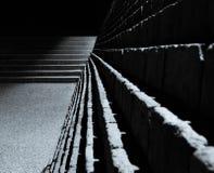 Escaliers déprimés et étapes Image stock