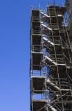 Escaliers d'échafaudage Photos libres de droits