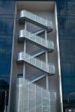 Escaliers d'évasion Image libre de droits