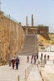 Escaliers d'entrée de Persepolis Photo libre de droits