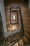 Escaliers d'infini Photo libre de droits