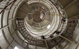 Escaliers d'un phare dans Poti, la Géorgie image libre de droits