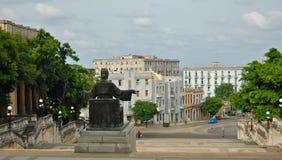 Escaliers d'université de La Havane Photographie stock