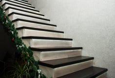 Escaliers dans la maison Photo stock