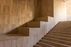 Escaliers dans la mosquée Photo stock